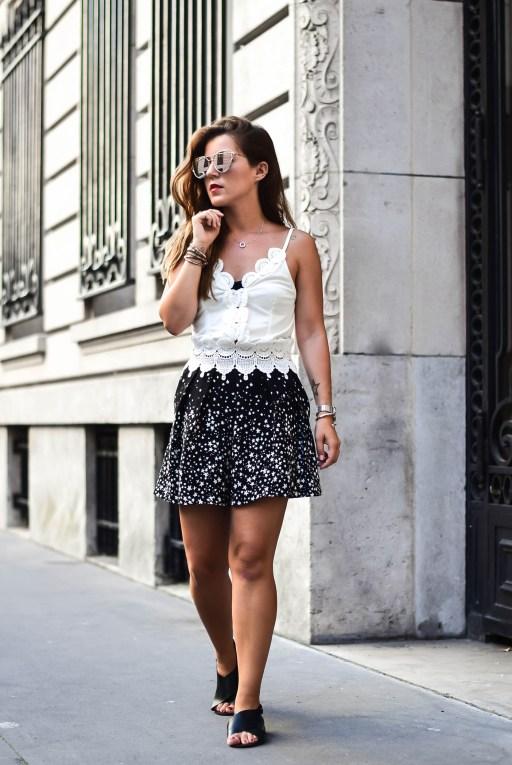 Short etoiles Zara