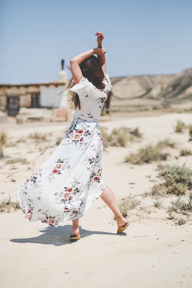 robe à fleurs shein