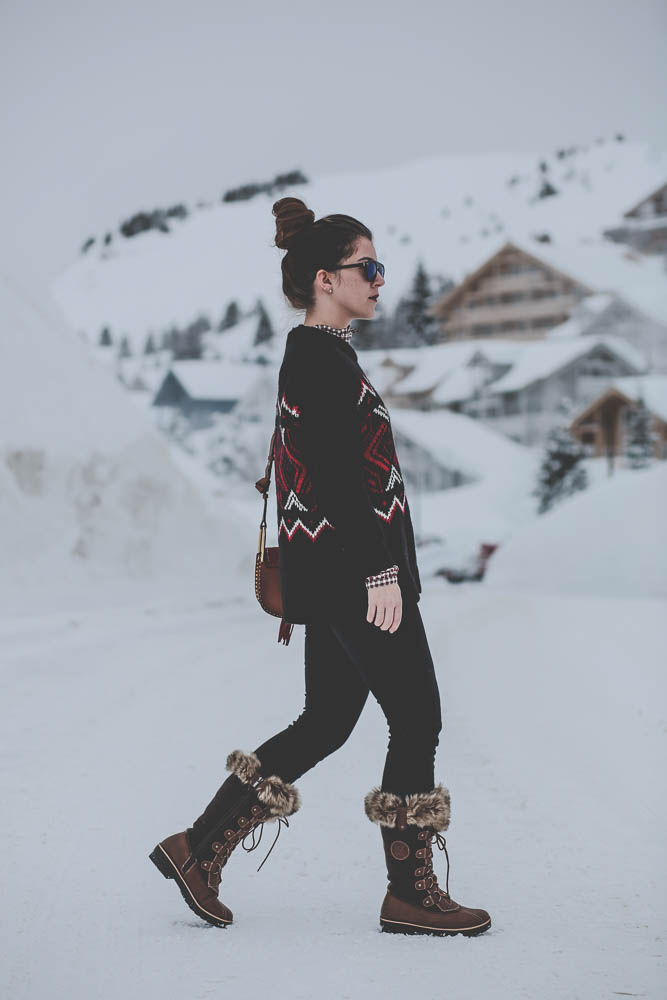 flaine french alps