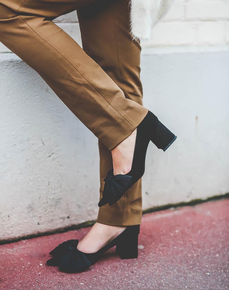 chaussures noeuds zara