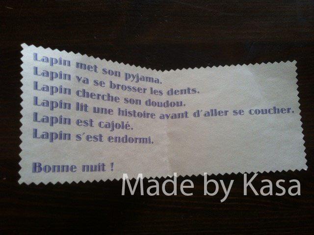 kasa5 Poupi le lapin et les rituels du soir