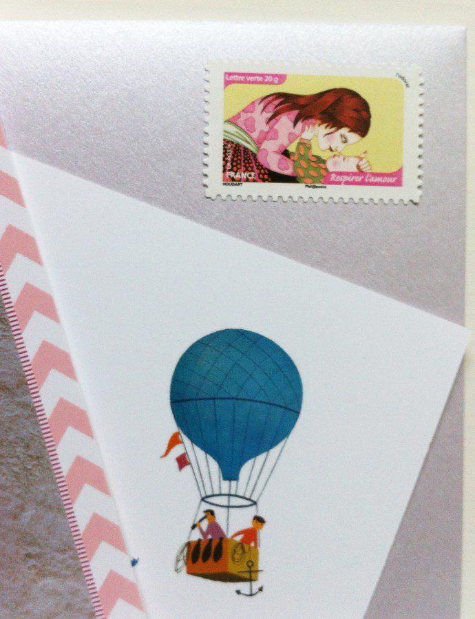 141102 emmanuelle houdard timbre 690x899 Le faire part de Mathilde