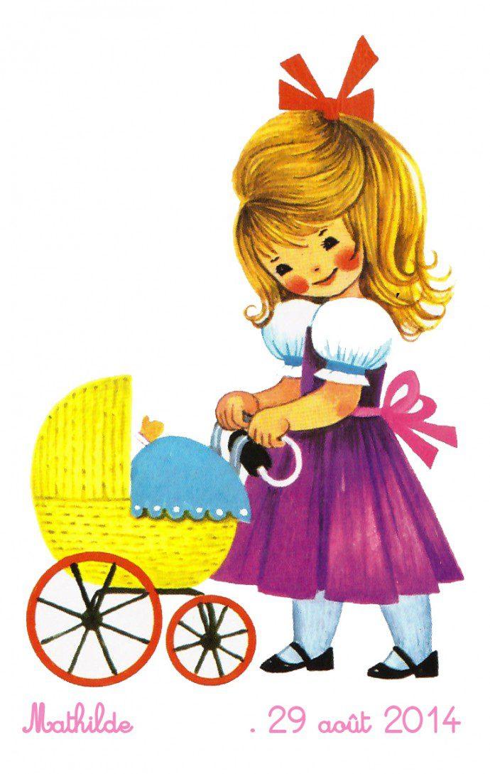 141102 timbre41 690x1089 Le faire part de Mathilde