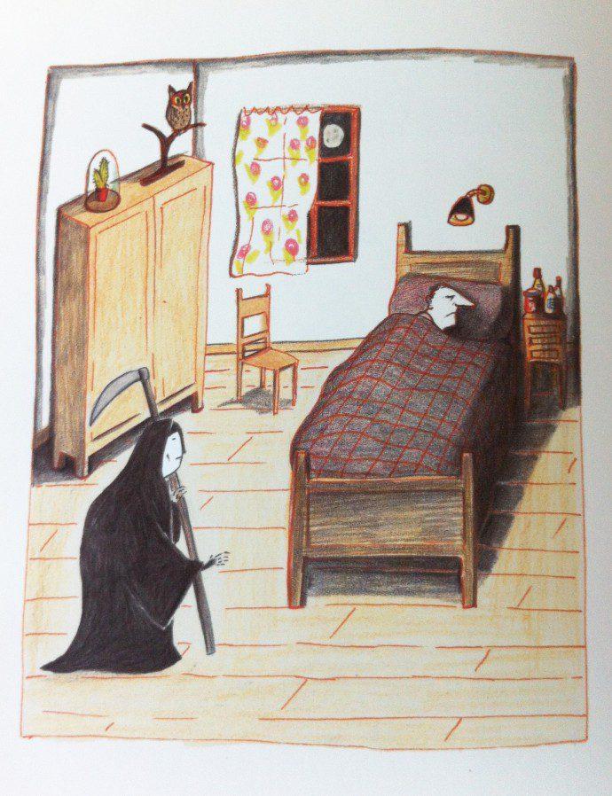 141106 petite mort3 690x898 La question du deuil et de la mort dans les livres pour enfants