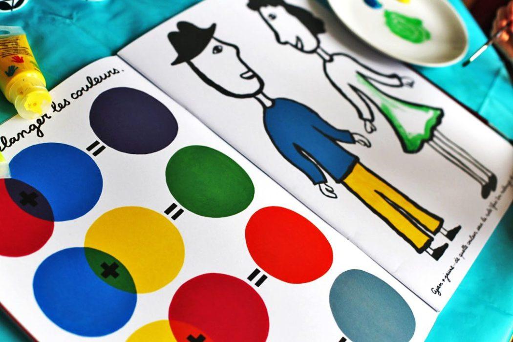 150905 activitecouleur10b Apprendre les couleurs avec le cahier de peinture de Pascale Estellon
