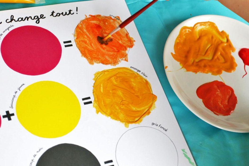 150905 activitecouleur7 Apprendre les couleurs avec le cahier de peinture de Pascale Estellon