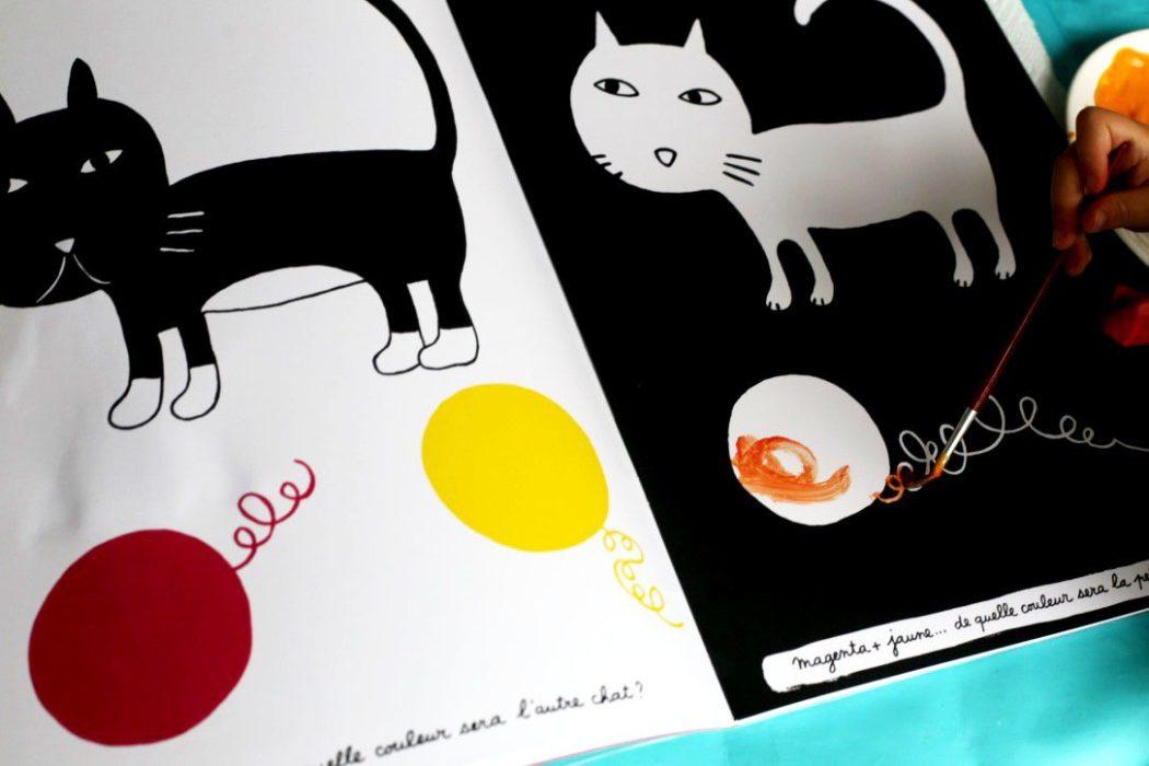 150905 activitecouleur9 Apprendre les couleurs avec le cahier de peinture de Pascale Estellon