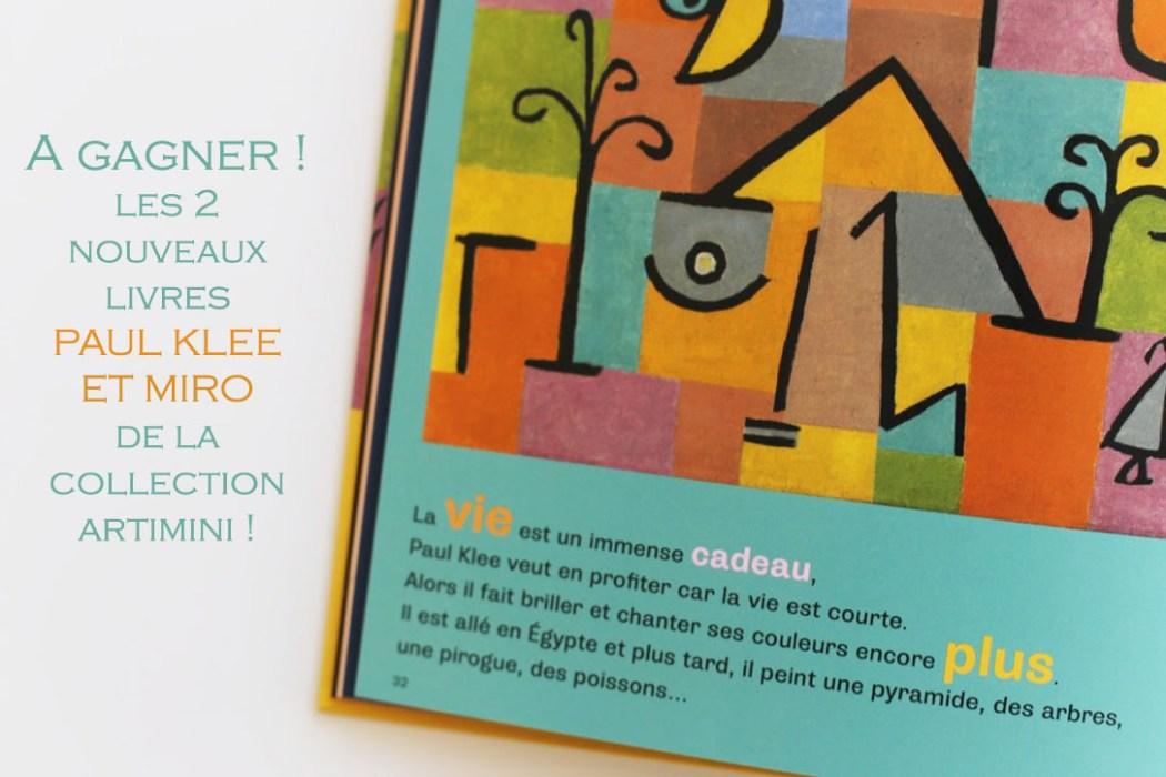 160217 artimini concours Et vous, vous êtes plutôt Joan Miro ou Paul Klee ? (Concours clôt)