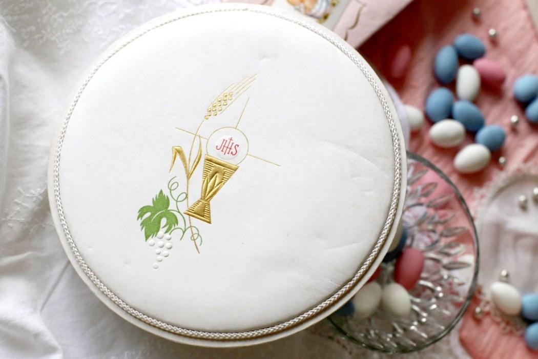 160307 bapteme dragees 6 Petites boîtes à dragées pour baptême retro