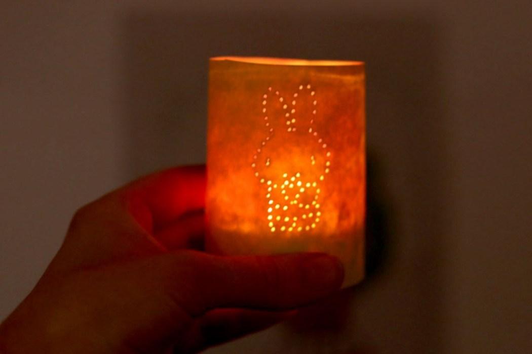 160314 miffy lanterne paques diy 1 Photophore de Pâques Miffy (DIY ultra Express)
