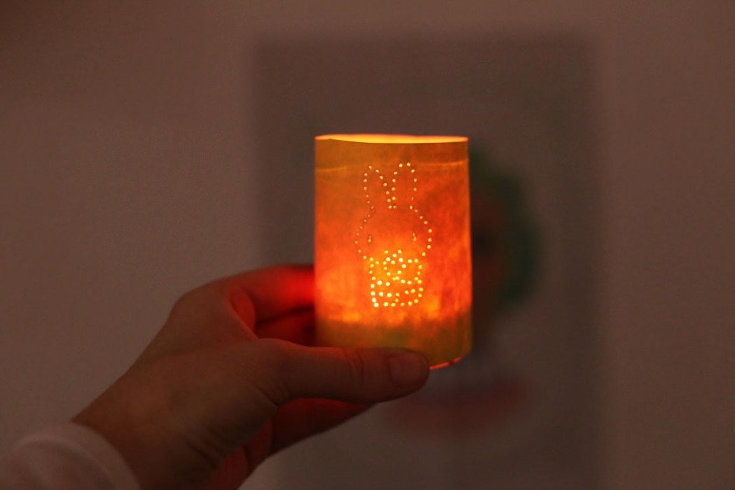 160314 miffy lanterne paques Photophore de Pâques Miffy (DIY ultra Express)