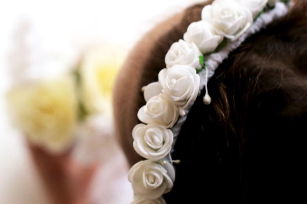 160405 look bapteme couronne Petit look de cérémonie en blanc, en rose et en broderies