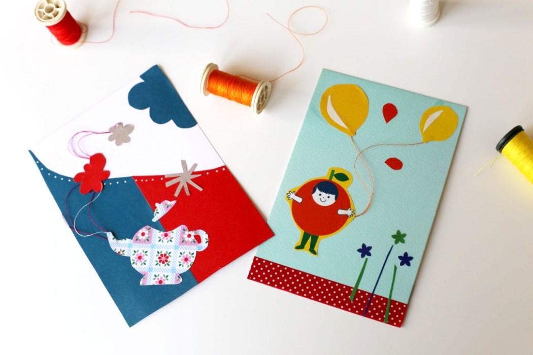 160410 carte postale sur le fil Sur le fil : entre collage et cartes postales (SHYT)
