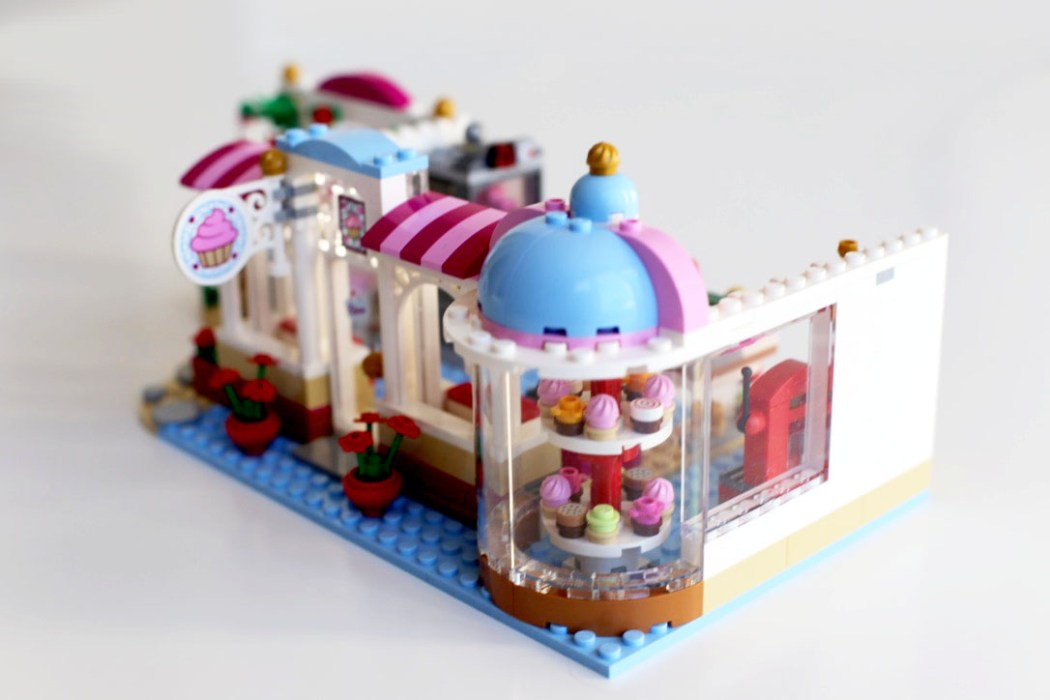 160425 legofriends boutique cupcake Ca casse les briques : Le cupcake Café d'Heartlake City Legofriends