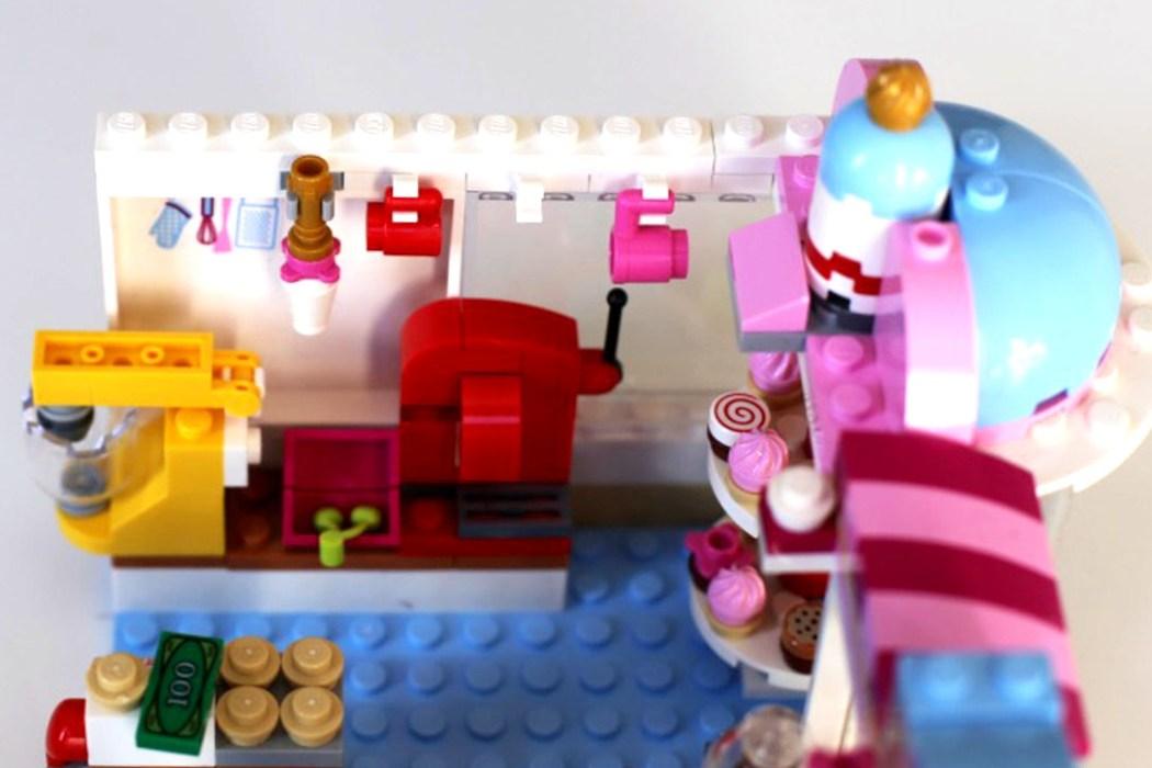 160425 legofriends cupcake boutique Ca casse les briques : Le cupcake Café d'Heartlake City Legofriends