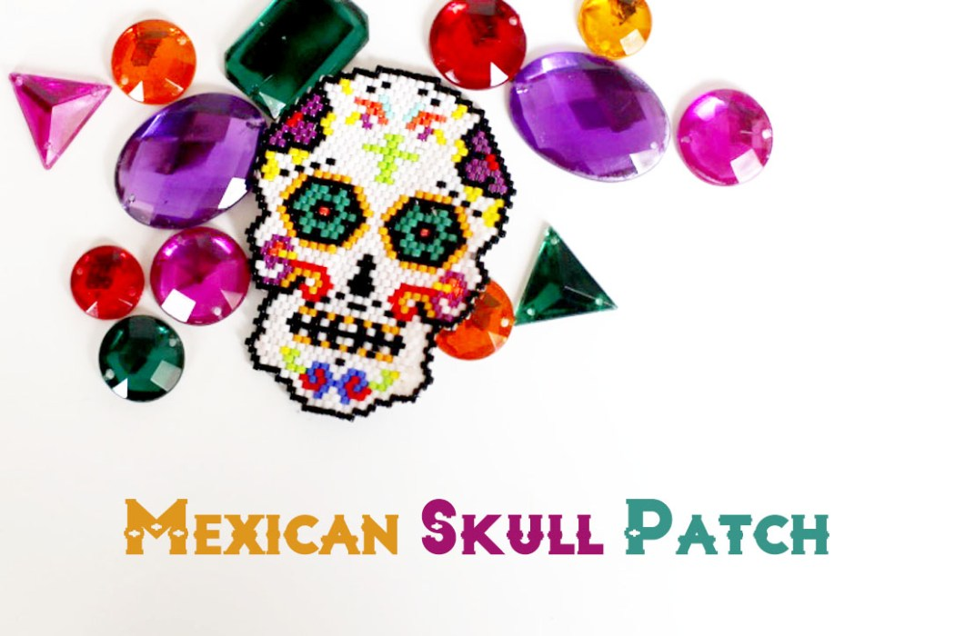 160428 mexican skull patch Un Mexican Skull Patch pour le Hellfest