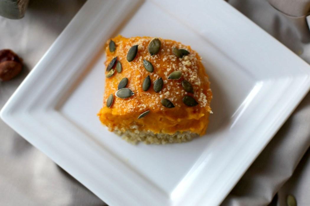 161003 courge quinoa parmentier Mon parmentier dautomne courge quinoa