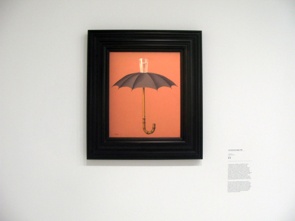 161005 magritte pompidou exposition Un mercredi avec Magritte