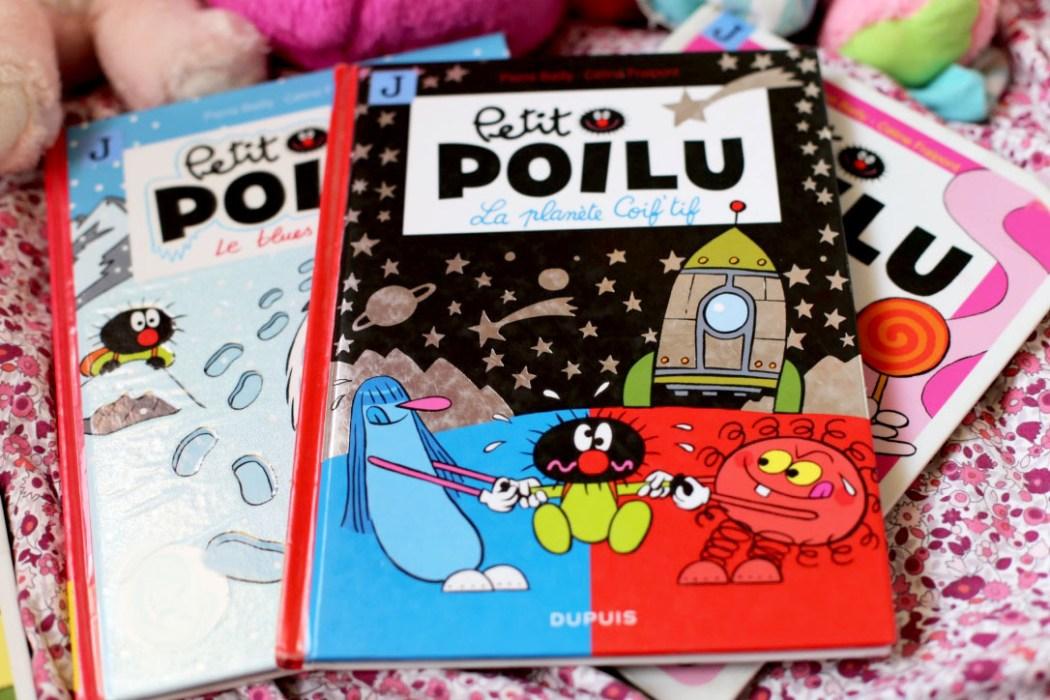 161016 petit poilu premiere bd jeunesse livre Petit Poilu : LA BD des tout petits