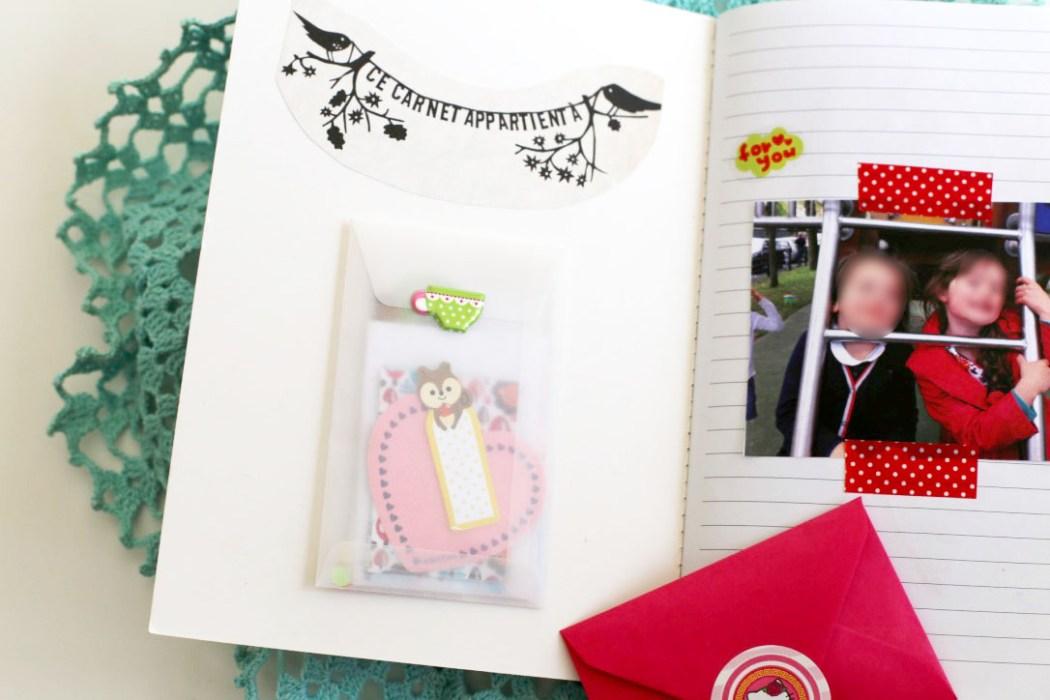 161019 carnet de souvenirs photo stickers Un cahier de souvenirs pour dire au revoir