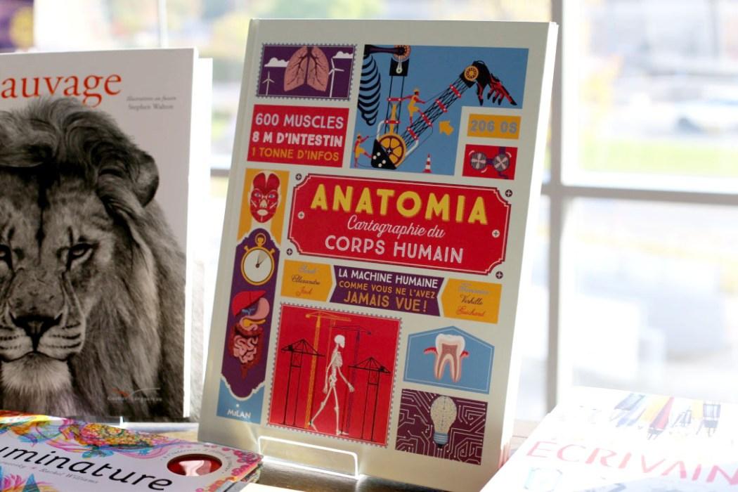 161104 cartographie du corps humain Cook & Book : la librairie la plus cool du monde