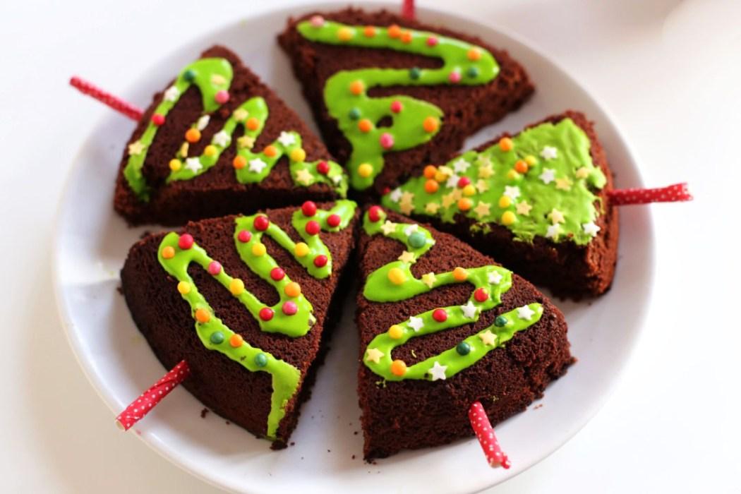 161212 sapin gateau chocolat noel Nos sapins de Noel, moelleux au chocolat