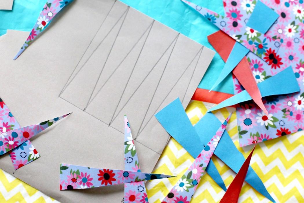 170202 collier en papier Un collier en papier tout coloré