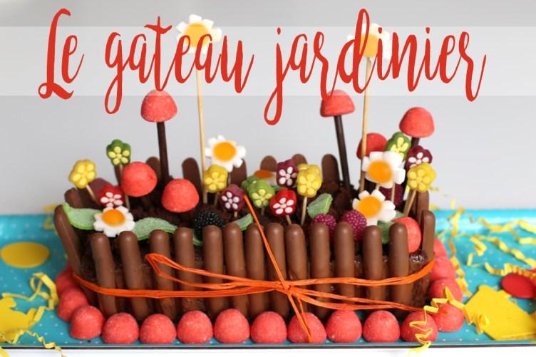 Le gâteau jardinier (pour se préparer à accueillir le lapin de Pâques)