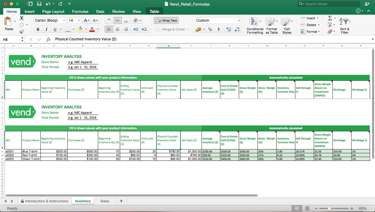 The main purpose of an it inventory template is the management of the software as well as the hardware for the management of the. Retail Inventory Management Template Eloquens