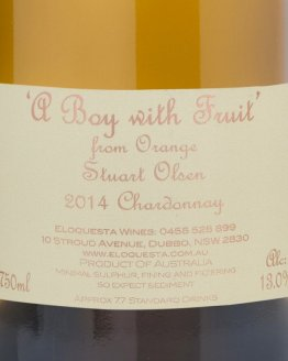 A Boy With Fruit Chardonnay 2014
