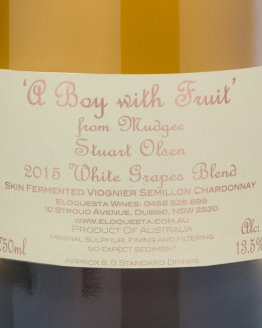 A Boy With Fruit 2015 White Grape Blend