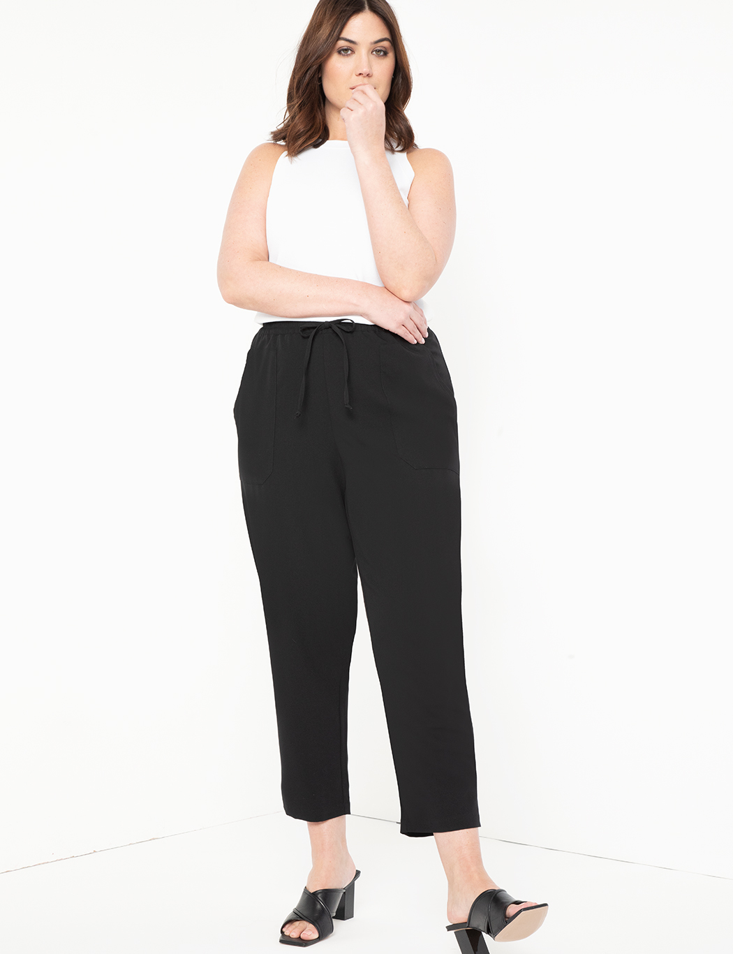 Relaxed Pant with Patch Pockets 6