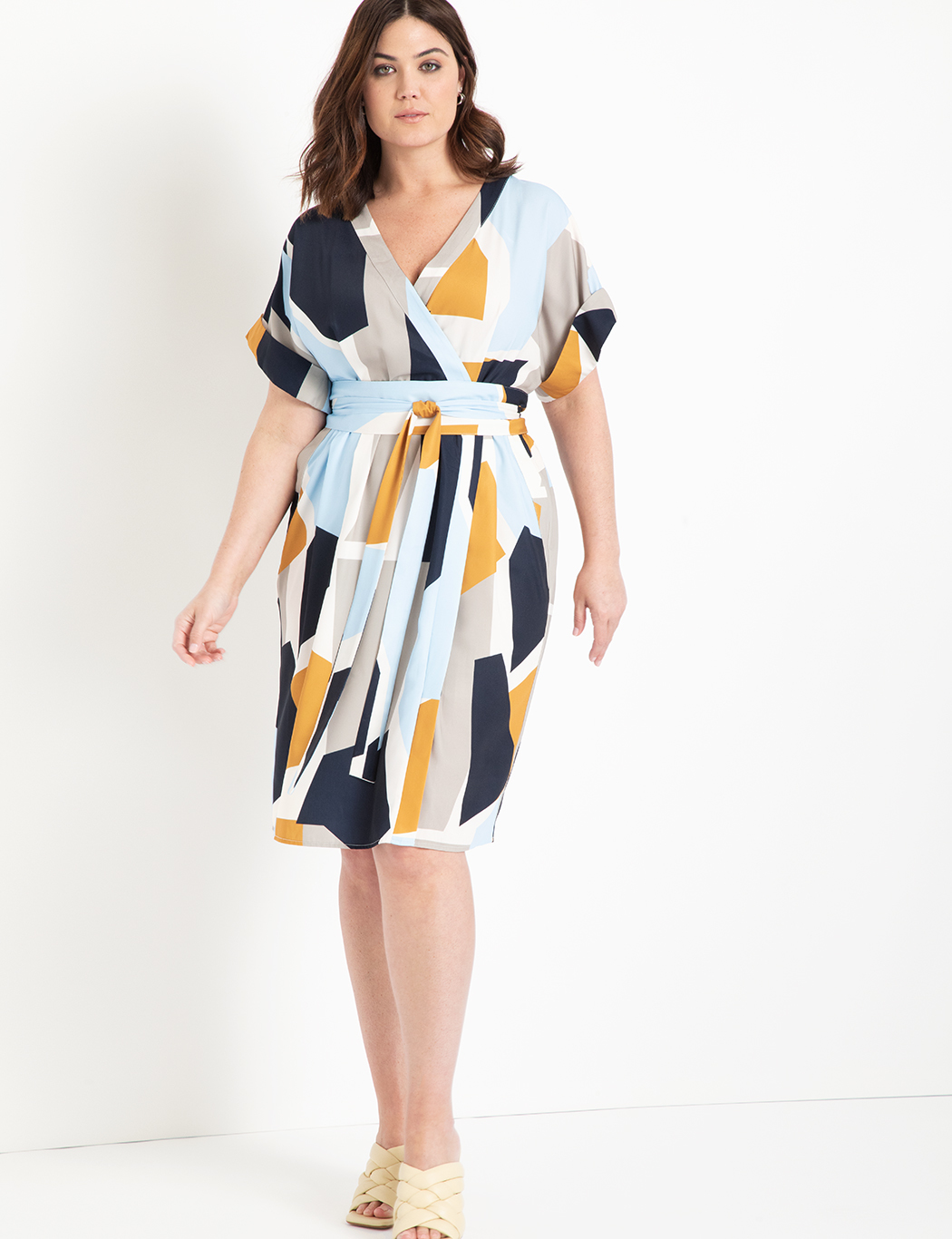 Easy Wrap Dress with Tie Detail 6