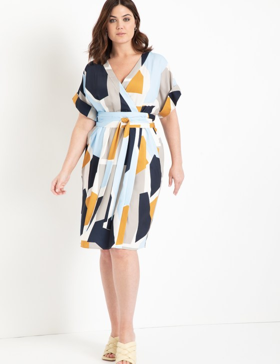 Easy Wrap Dress with Tie Detail 5
