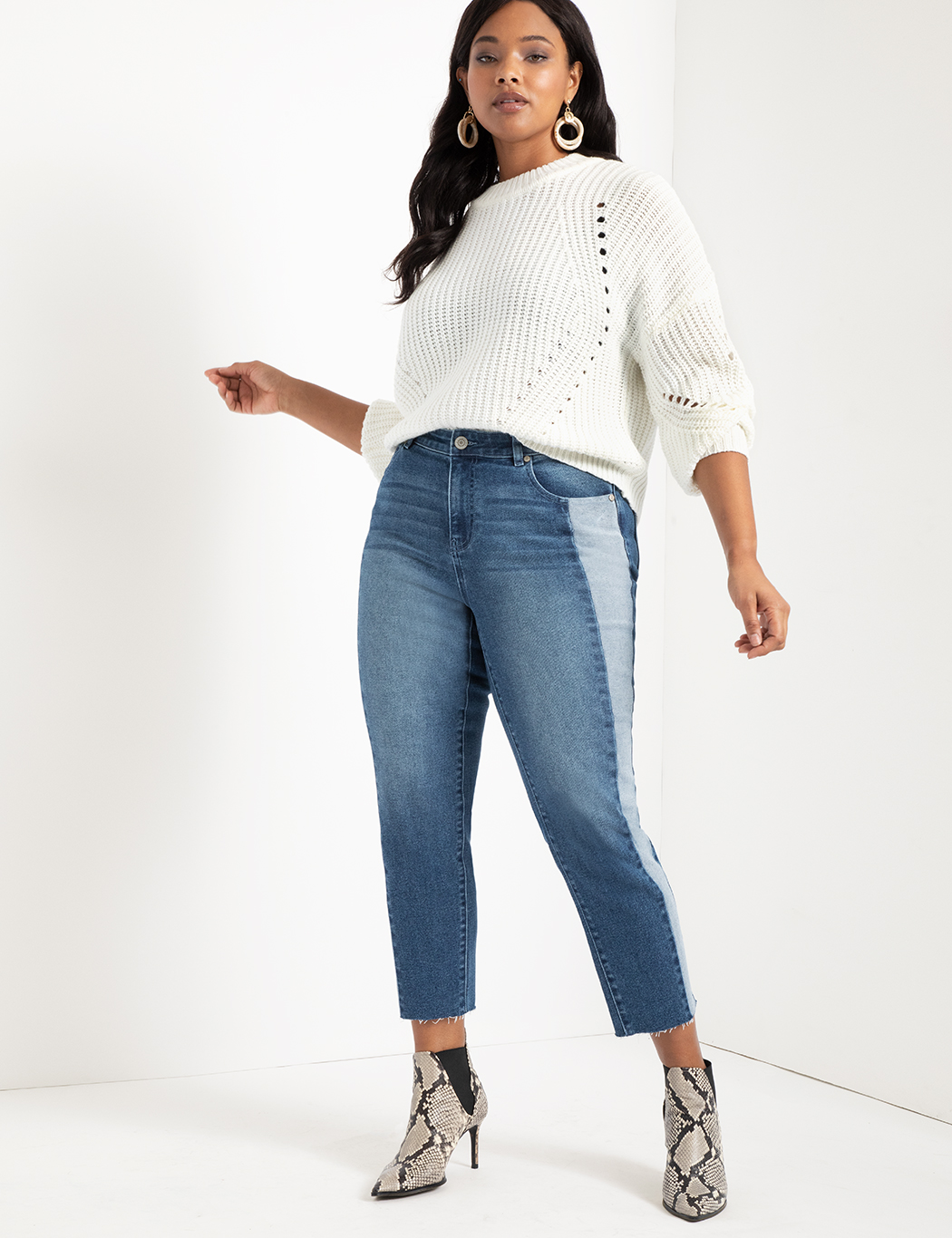 Relaxed Two-Tone Jean 17