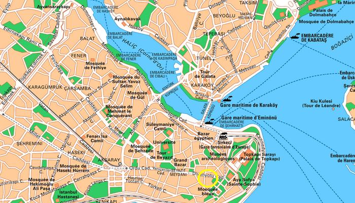 carte Istanbul
