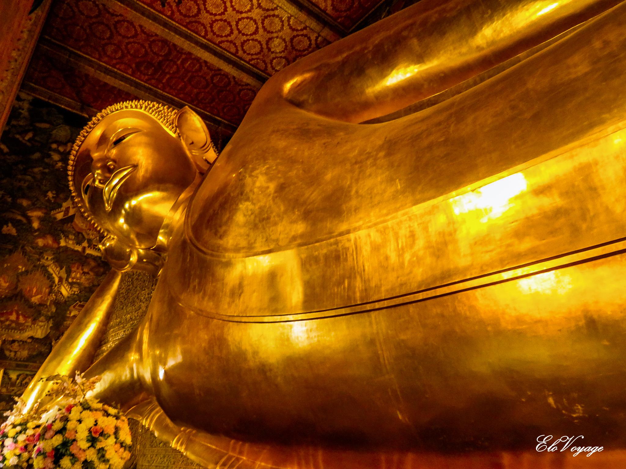 wat pho bouddha couché bangkok