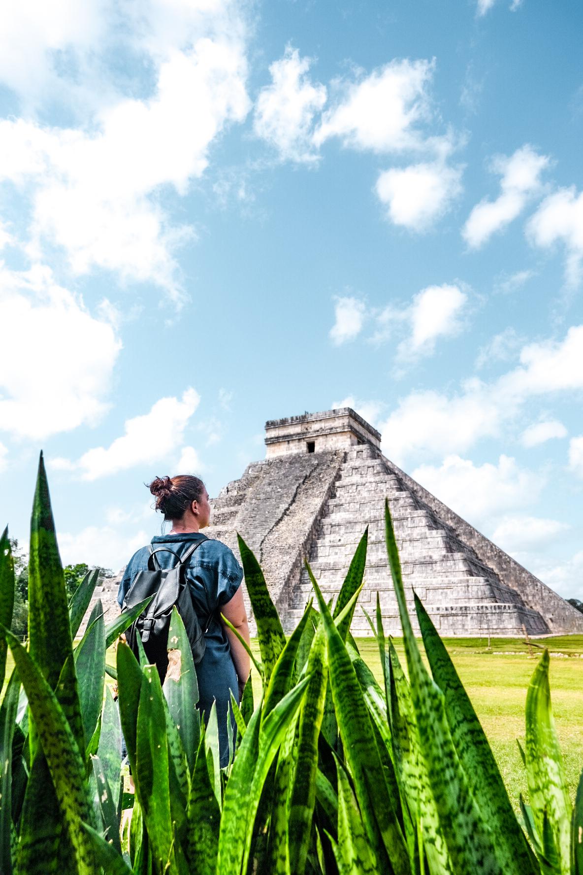 merveilles du monde Chichen Itza Yucatan Mexique