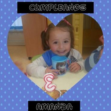 CUMPLE DE AMANDA