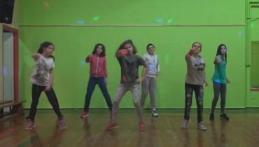Actuación del taller de baile de Alejandra Cianca.