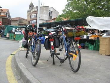 Paseuco en bici por Cabezón de la Sal