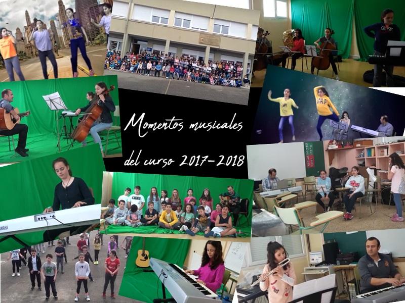 MOMENTOS MUSICALES DEL CURSO 2017-2018.
