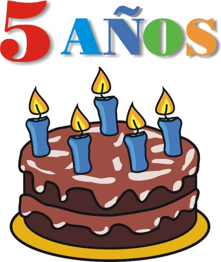 YA TENEMOS 5 AÑOS!!!!