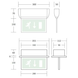 SignalLED  LED Exit Signs  Emergency Lighting Products Ltd