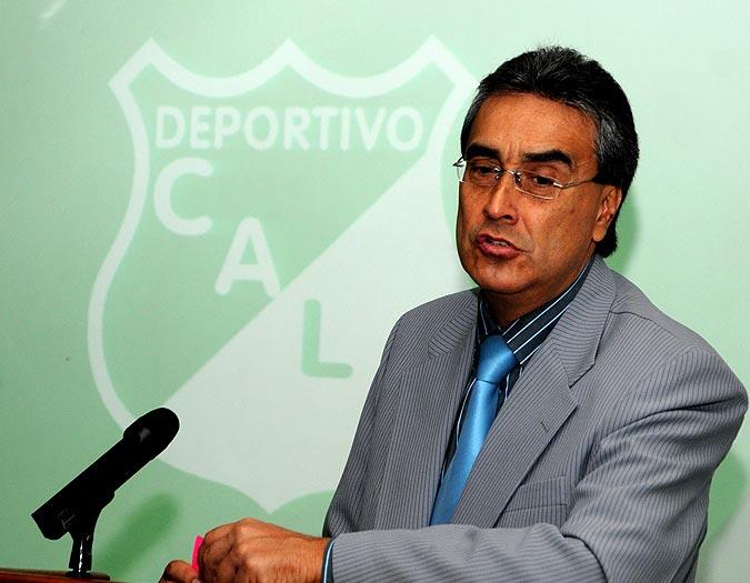 Fernando Marín, presidente del Deportivo Cali. - ENLAJUGADA.COM