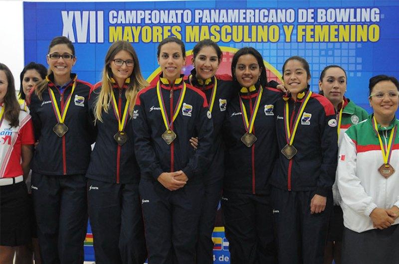 Colombia es campeona del Campeonato Panamericano de Bolos en damas