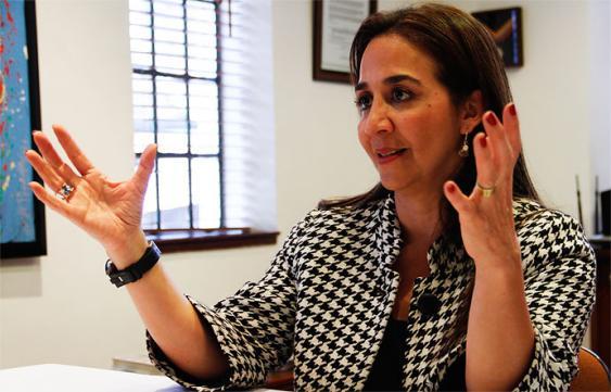 Sandra Forero, presidenta de Camacol. Foto: Elpais.com.co | Colprensa