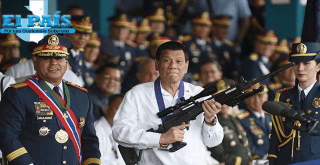 Rodrigo Duterte ordena eliminar a los comunistas