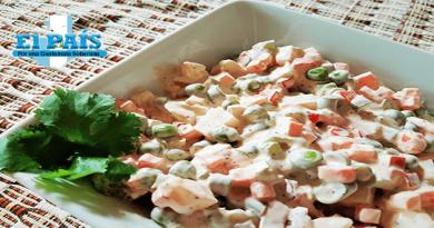 Receta de ensalada rusa estilo guatemalteco