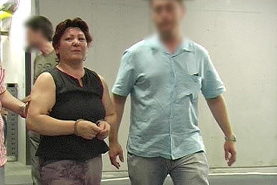 Remedios Sánchez, la presunta asesina de varias ancianas, tras ser detenida por Mossos d'Esquadra